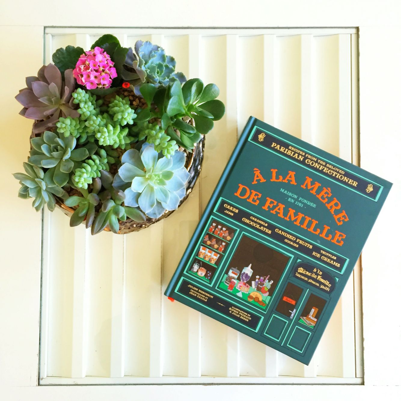 Florals By Cebolla A La Mere De Famille Coffee Table  # Muebles Gayro Cadiz