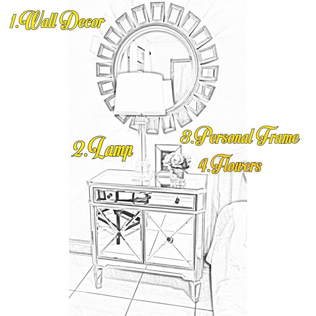 How To Stylishly Personalize/style/decorate Your Nightstand. The Coco  Lifestyle U2014 Coco Furniture Gallery