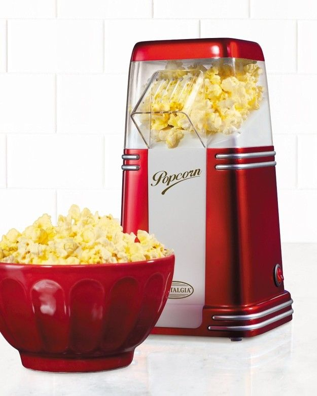 A Retrohot Air Popcorn Popper That Ll Fit Right On A Countertop