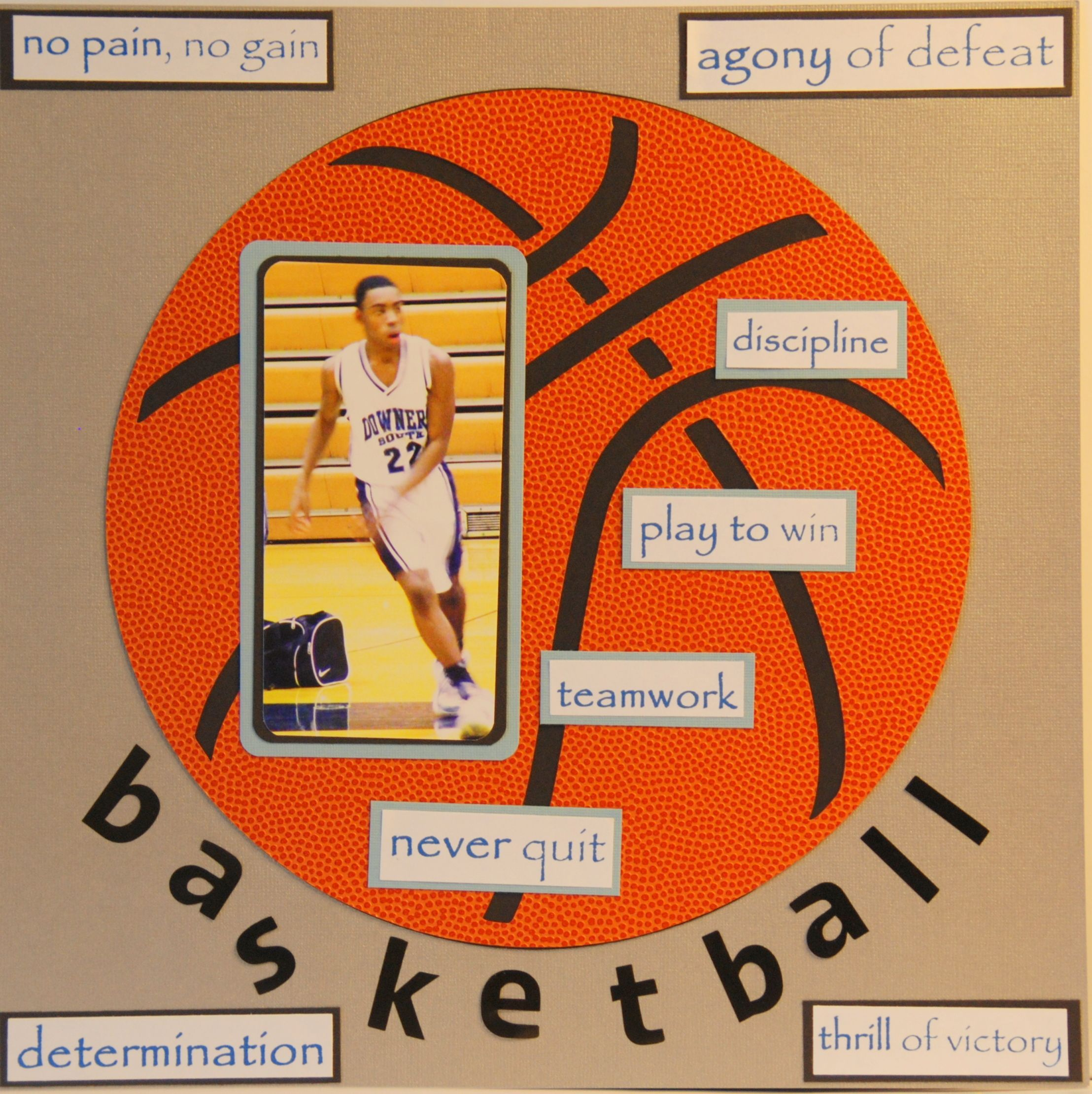A game of basketball (1 of 2) Sports gifts Sportsgifts
