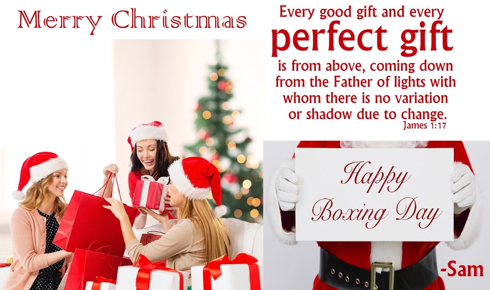Boxing Day Perfect Gift Ny Pinterest