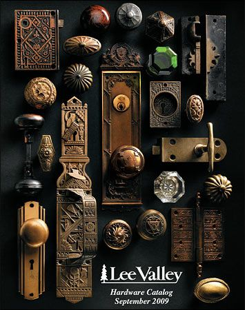 2009/10 Hardware Catalog Cover | Lee valley catalog covers ...