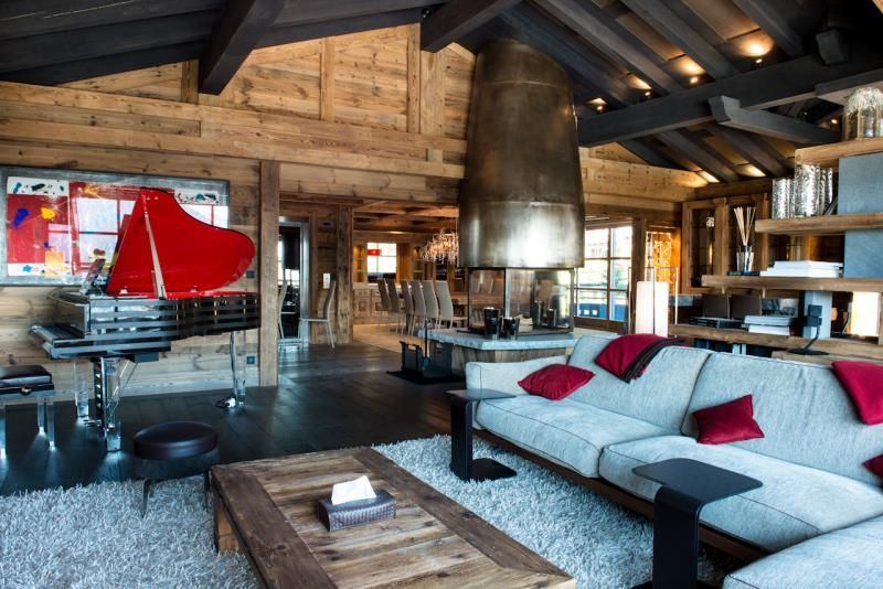 pink interior design and decorating style estate chalet the 11 fastest growing trends in hotel interior design - Rustic Hotel Decorating