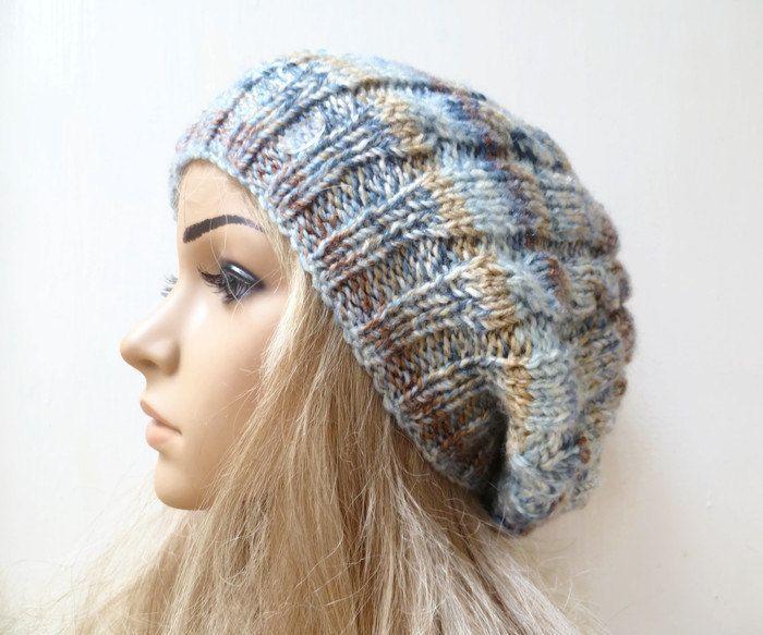 c5560d1e3f1 Women Knit Slouchy Beanie Hat