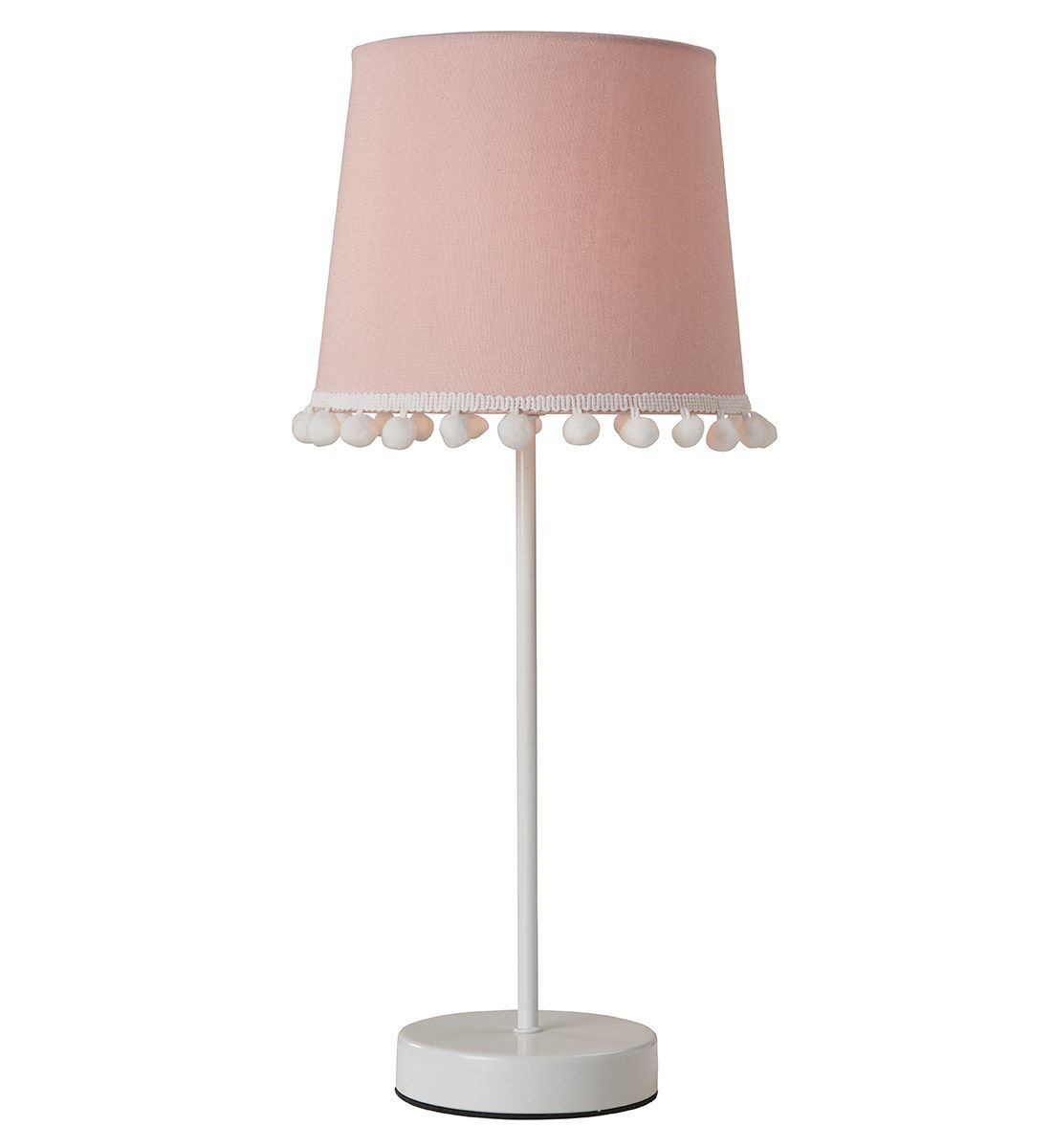 Pom Table Lamp   Pink