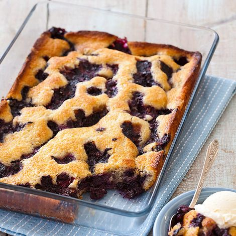 Don T Mess With Texas Style Blueberry Cobbler Shine Food