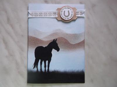 """Stampin up Set """" Das Glück der erde """" ( """" Horse Frontier """"), """" Mosaic Madness """", """" Ein Gruß für alle Fälle """""""