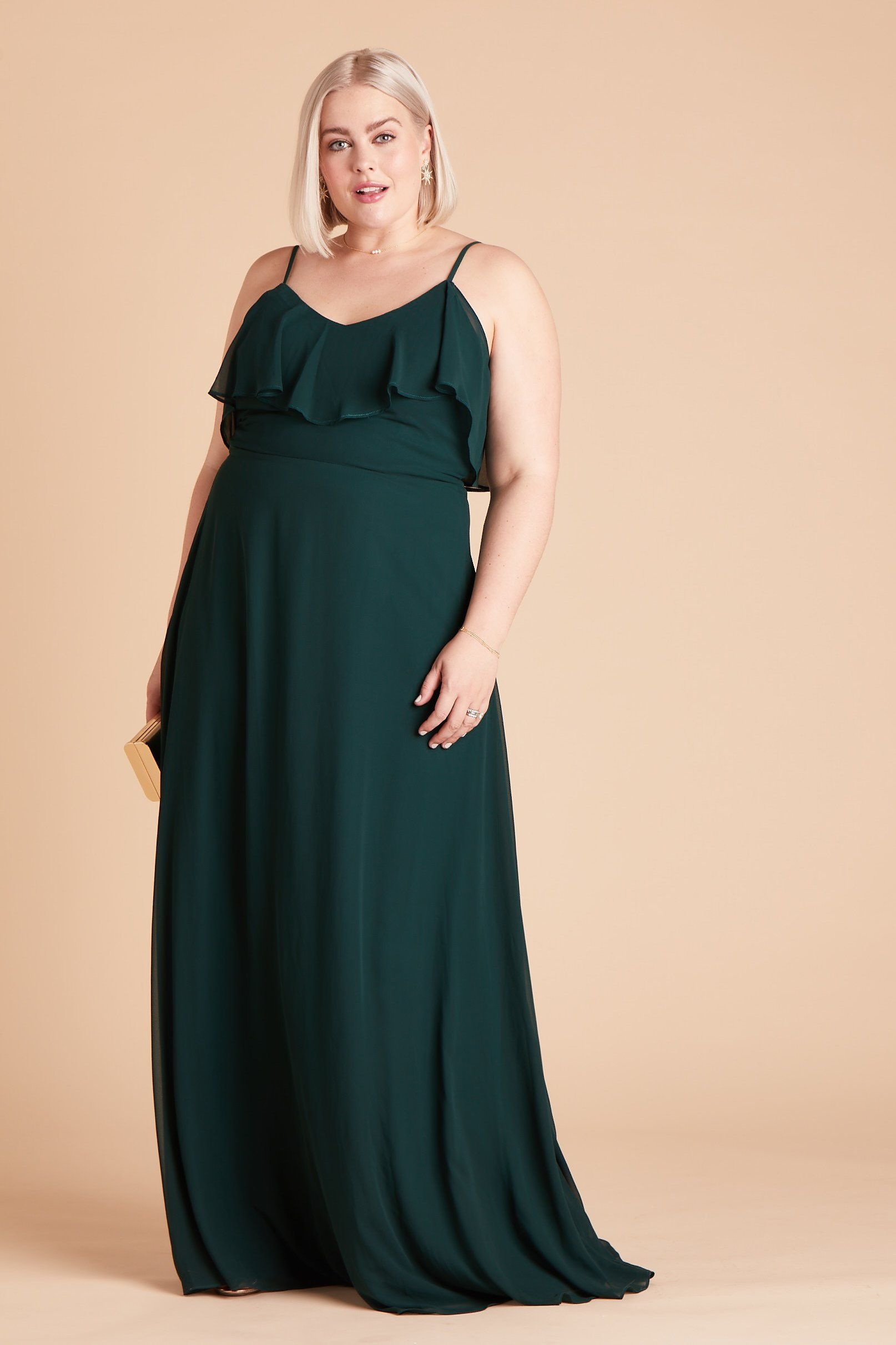 Jane Convertible Dress Curve Emerald in 2020