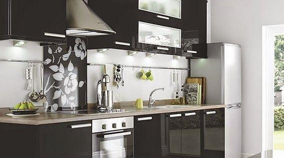 15 dise os de cocinas en blanco y negro cocinas en - Cocinas en blanco y negro ...
