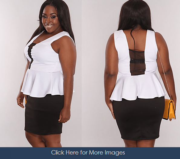 Plussizeclubdresses All White Plus Size Club Dresses Shine In