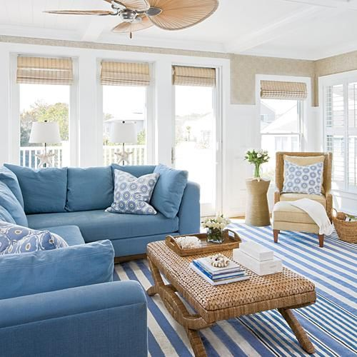 Coastal Living On Twitter Beach Living Room Coastal Decorating Living Room Coastal Style Living Room
