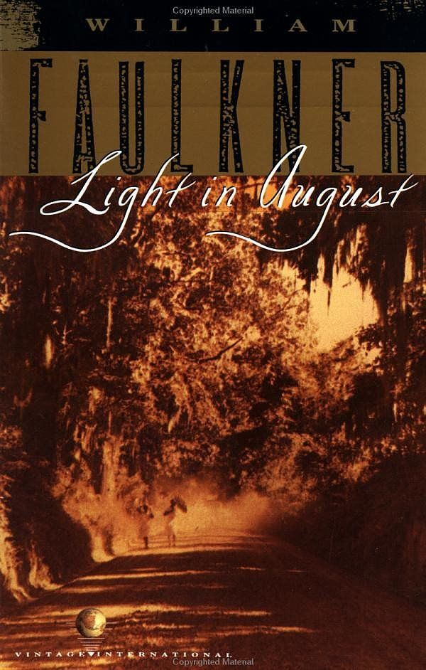 light in aaugust Light in august is the culmination of this creative period and is the novel in which faulkner combines many of his previous themes with newer insights into human nature in sartoris, the sound and the fury, and as i lay dying, faulkner had examined the relationship of the individual to his family.