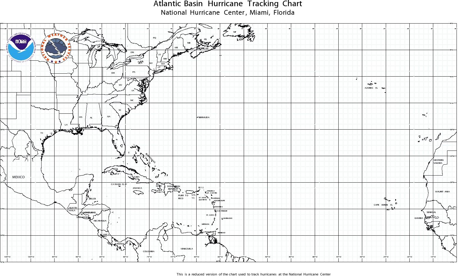 Image Result For Hurricane Tracking Map Printable