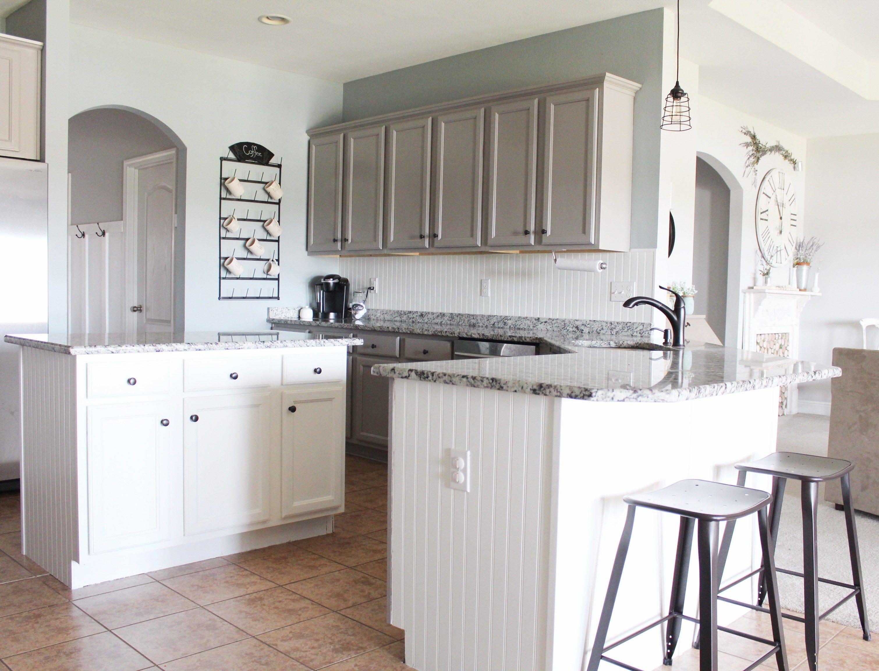 Best Budget Friendly Modern Farmhouse Kitchen Update Kitchen 400 x 300