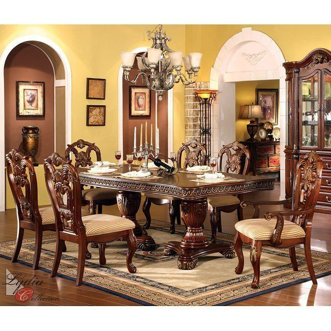 32 Stylish Dining Room Ideas To Impress Your Dinner Guests: Regalia Formal Dining Room Set