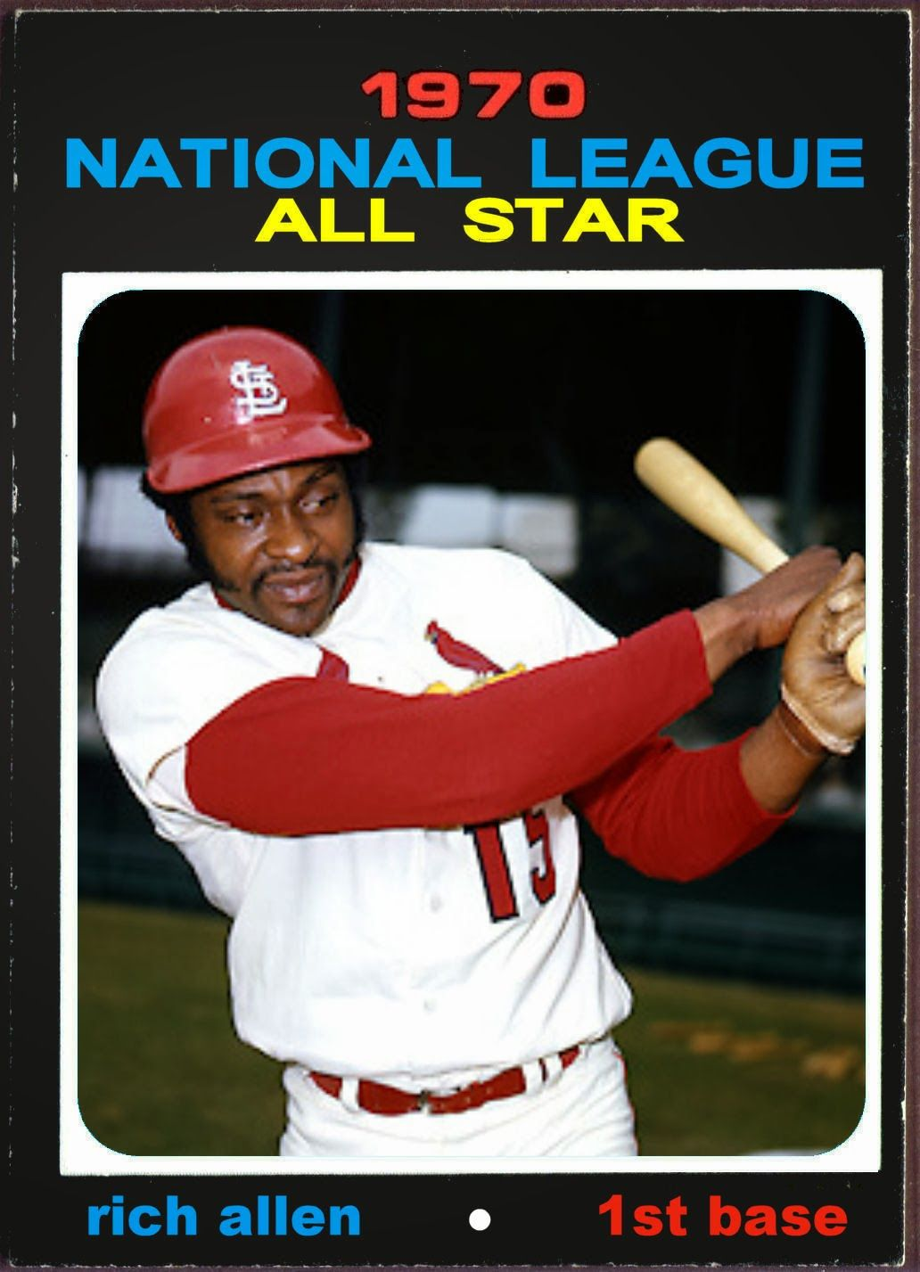 Cards That Never Were: 1971 Topps All Star Cards : National League Infield