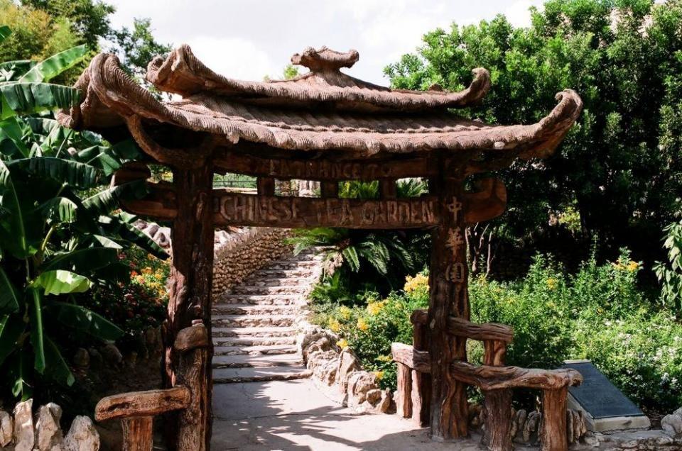 Japanese Tea Gardens, San Antonio, TX Tea garden, Summer