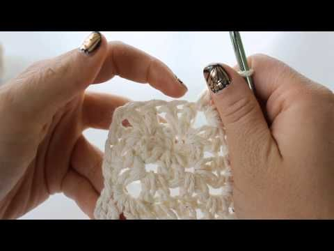 How To Crochet a Dish Cloth