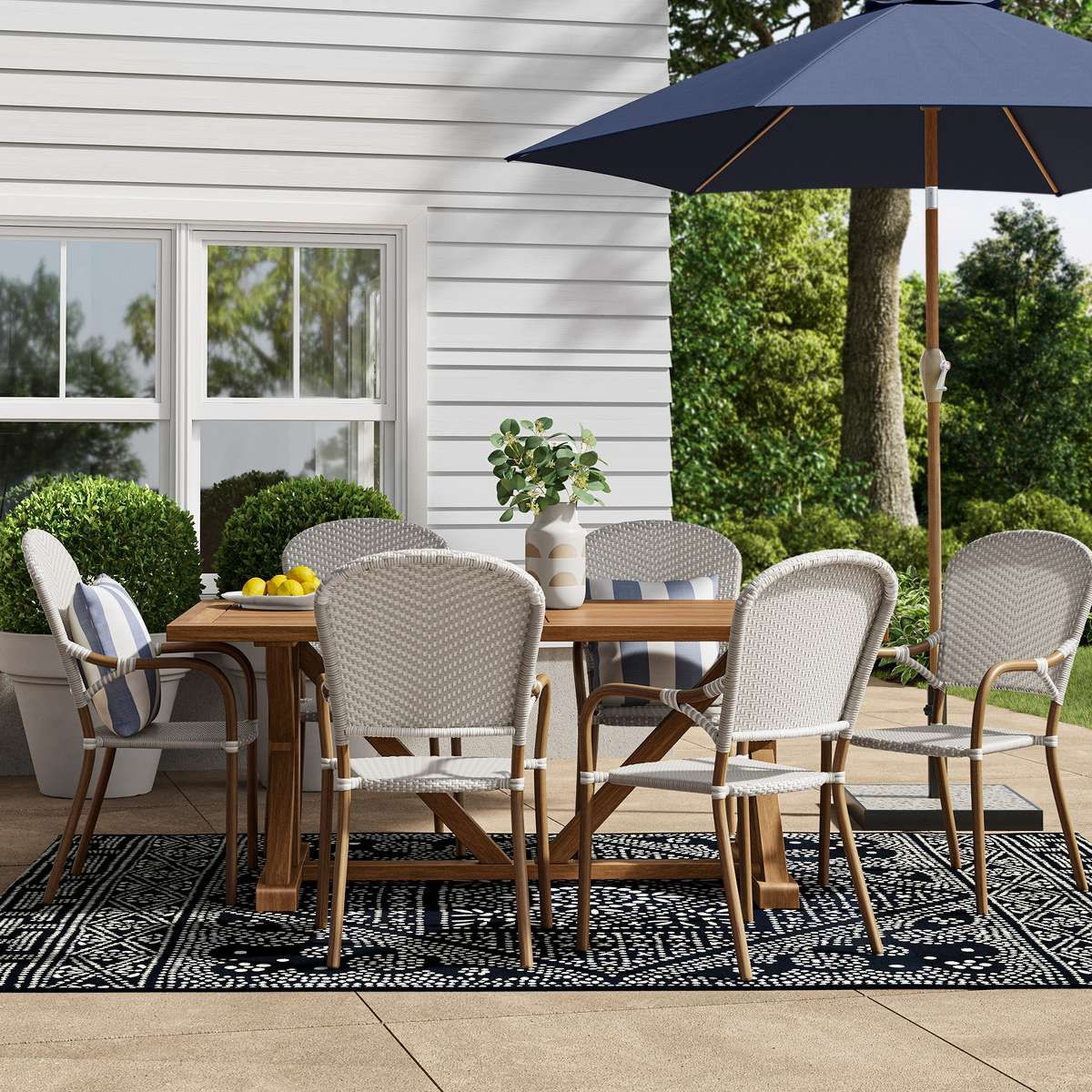 Create a welcoming outdoor space with a rustic vibe. Shop ... on Target Outdoor Living id=74792