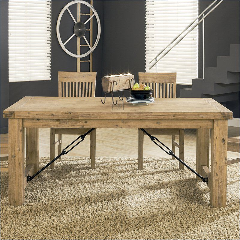 Bon Modus Furniture Autumn Dining Table In Light Brown