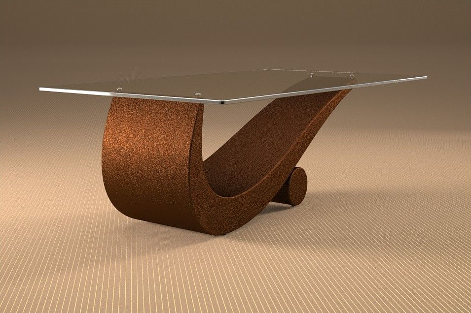 Articolo c tavolino da salotto flexfinitura moka misure cm