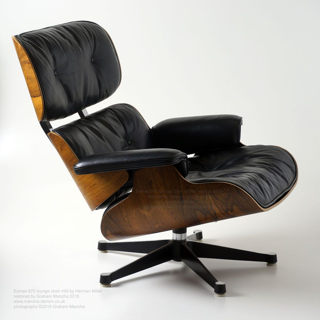 herman miller chair repair chicco high eames vitra 670 lounge new oem shock mounts and plywood