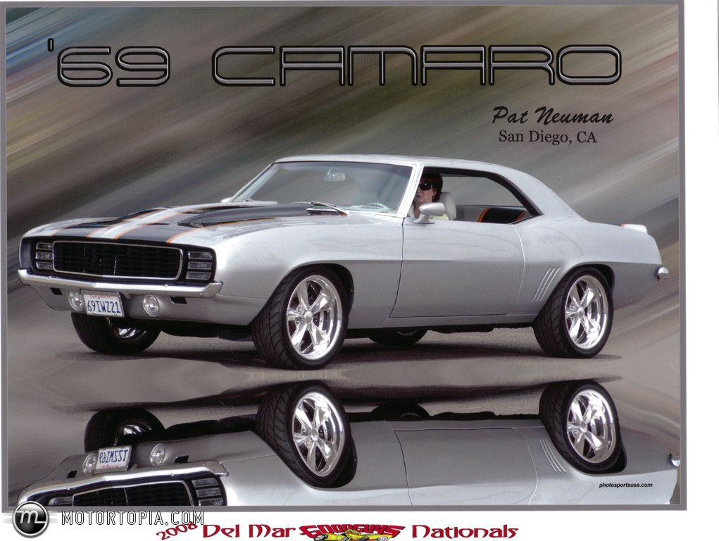 Image detail for Photo of a 1969 Chevrolet Camaro Custom