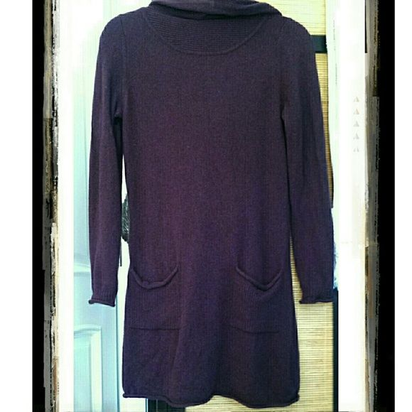 SALE! 100% cashmere sweater dress This color will be so hot this ...