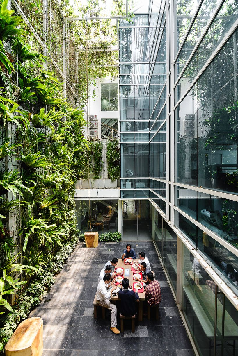 Airmas asri architects adds greenery to new expanded - Winter garden theatre box office hours ...