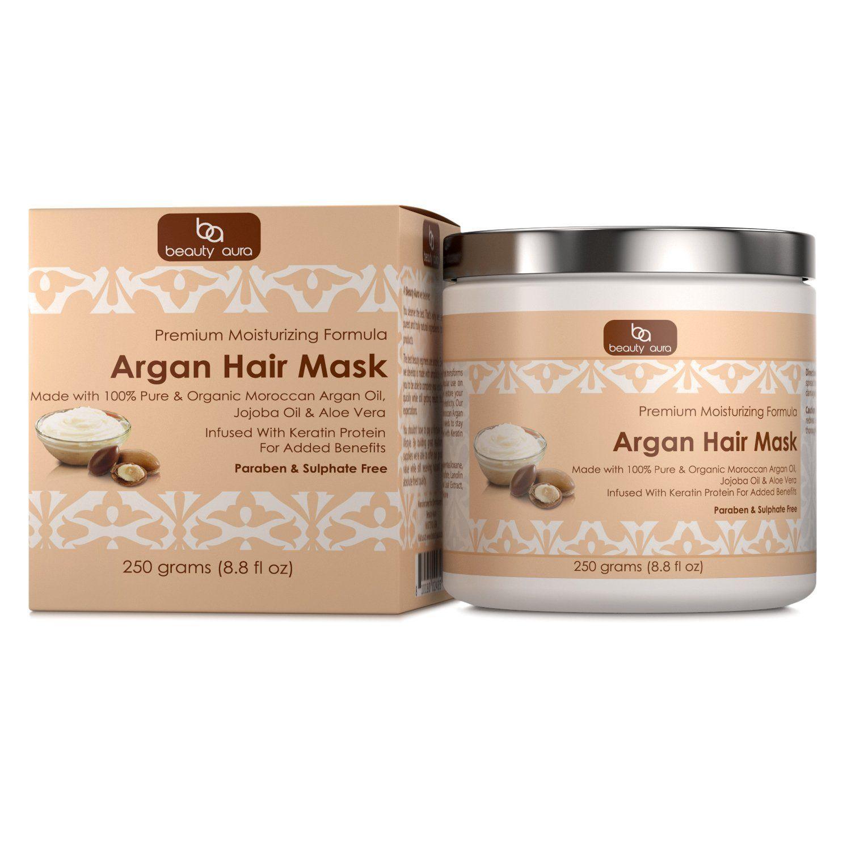 Beauty aura argan hair mask 250 grams 88 fl oz