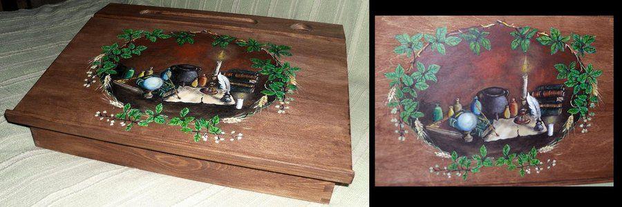 Writing box -Witchcraft by oshuna.deviantart.com on @deviantART