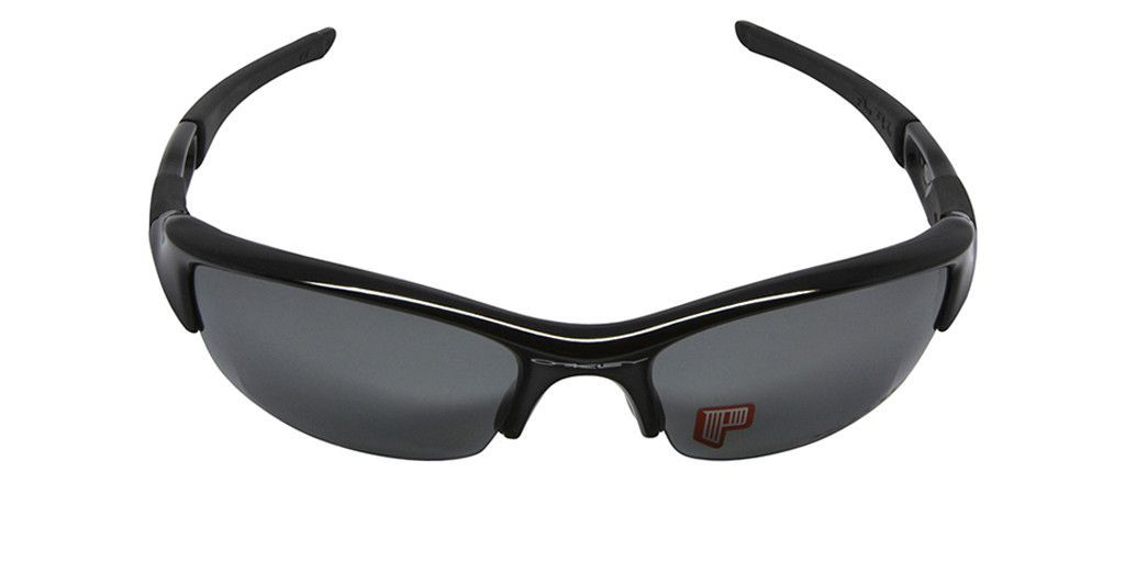 21713cde7a OAKLEY POLAR FLAK JACKET 12-900 Jet Black Frame Black Iridium Polarized  Lenses