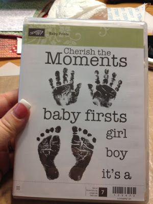 3 Monkeys throwing around some....PAPER!!!: Alternative use for the baby foot prints stamp!