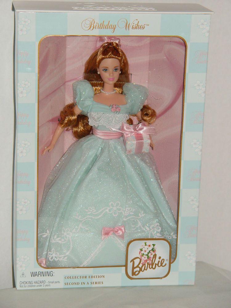 "Barbie Collector Edition ""Birthday Wishes"" Barbie Mattel"