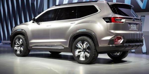 New Subaru Row Crossover New Subaru Passenger Suv