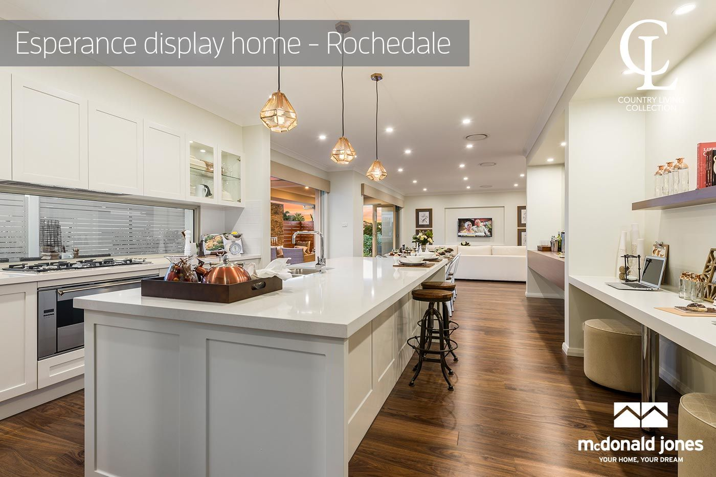 A Gourmet Kitchen With Walk In Pantry, Refined Dining And Living Setting,  Study Nook