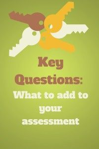 Key questions worth considering in your music therapy assessment.