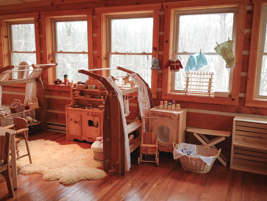 Waldorf Kinderzimmer ~ Perfect waldorf playroom simplicity spaces little one s cozy