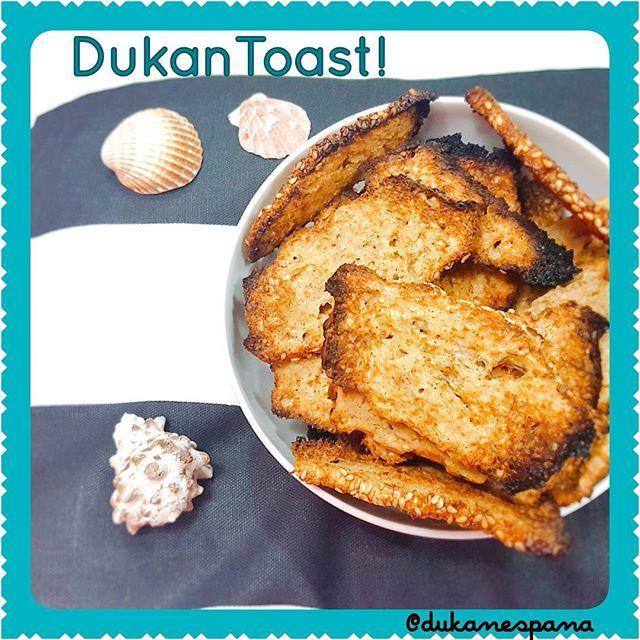 Tostadas Dukan, crunchy, crunchy! - dukanespana
