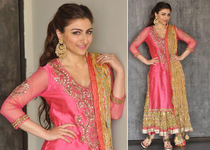 Mehndi Ceremony Dress For Bride : Chandbalis at soha ali khan wedding! marigold tales things to