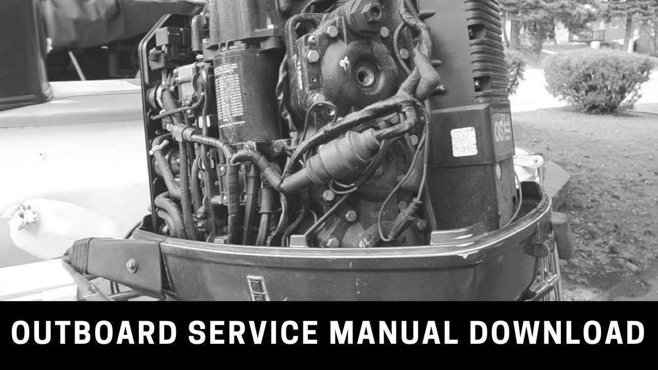 Johnson Outboard Service Manual 1994 Johnson Evinrude Er 9 9 30 Outb Outboard Outboard Motors Manual