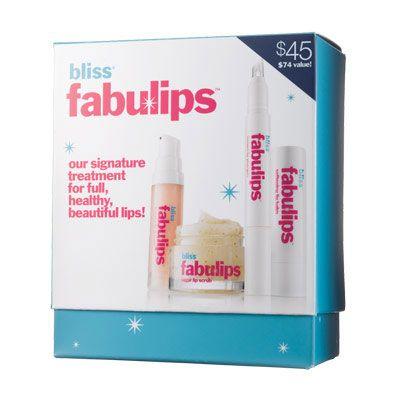 Best splurge-on-sale-at-80%-off ever!!!   Bliss Fabulips Treatment Kit | Lip Treatments - Blissworld