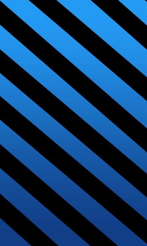 Blue Blue And Black Black Stripes Wallpaper For Android Or Iphone