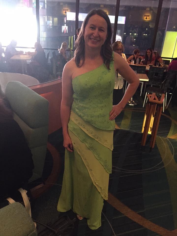 The awards ceremony dress (Golden Heart finalist!), RWA 2015.