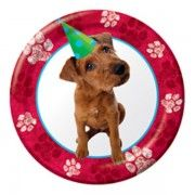 Puppy Party Small Paper Plates  sc 1 st  Pinterest & Puppy Party Small Paper Plates | Dog and Cat Themed Birthday Party ...