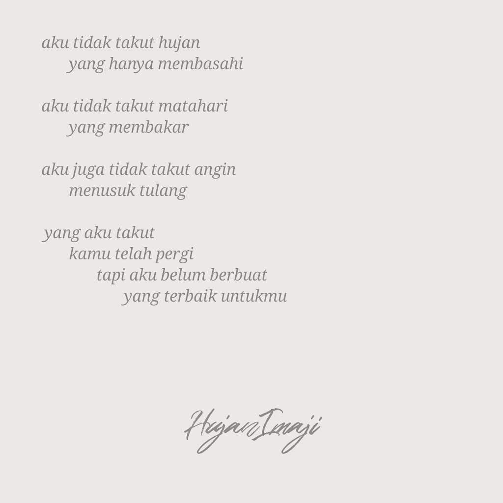 Pin Oleh Nadya123 Di Kutipan Sajak Puisi Dan Kutipan Cinta