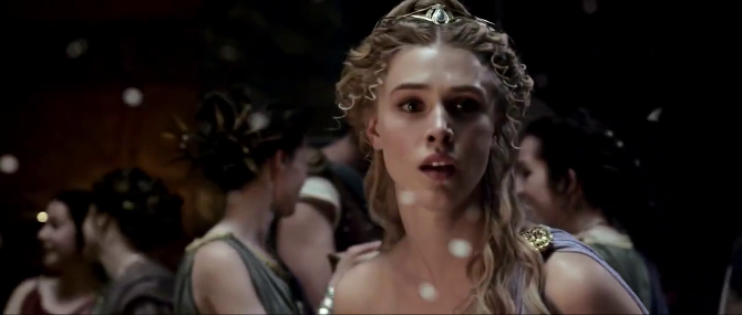 Gaia Weiss as Hebe Greek Goddess of Youth, The Legend of Hercules