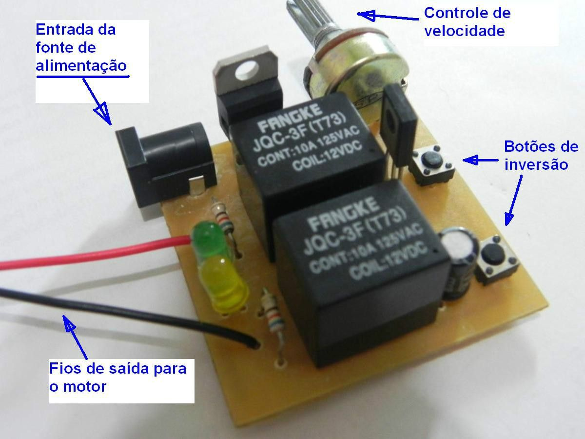 Controlador De Velocidade E Sentido Giro Motores Cc Circuito Pwm Speed Controller For 300w Cnc Spindle Motor Kits Support Ac And Dc Arduino Learning