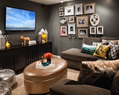 cozy tv room inspiration. | home + spaces. | Pinterest | Room ...