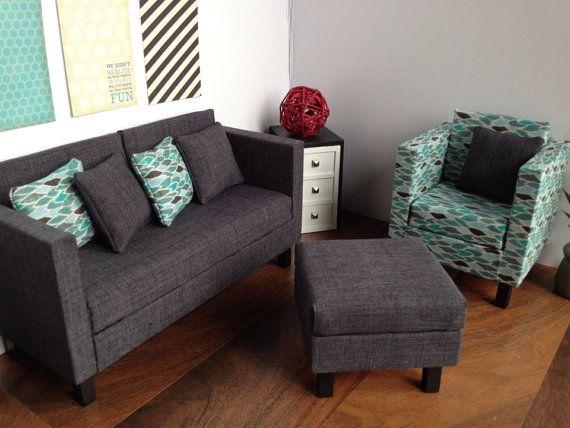 Pin von Angel Däumling auf Doll House Furniture 16 Pinterest - barbie wohnzimmer möbel